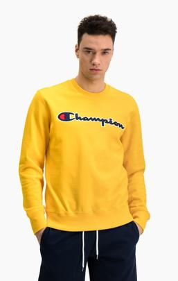 SUDADERA 214188/YS022 /YELLOW /CHAMPION