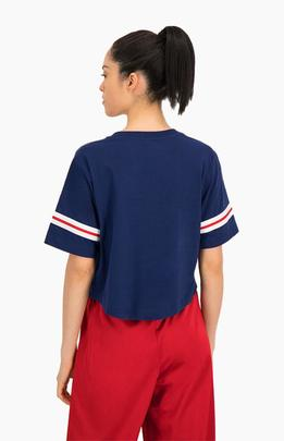 Crewneck croptop/ navy/ champion