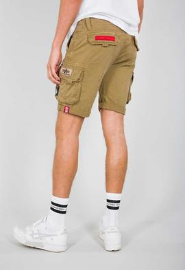 CREW SHORT PATCH / SAND / ALPHA