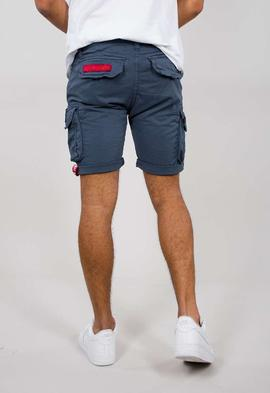 CREW SHORT PATCH/ NEW NAVY/ ALPHA