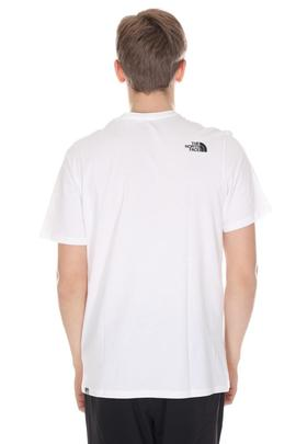 easy tee white the north face