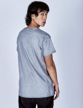 t-shirt back to black / grey / le crane