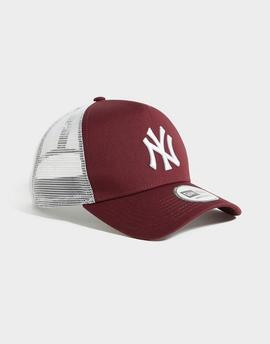 Cap new era burdeos_white