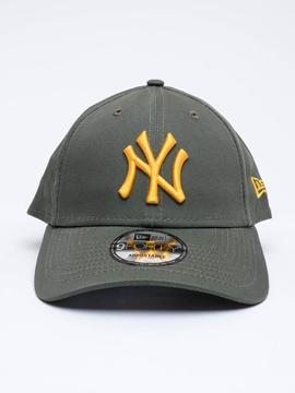Cap new era forty9 green_yellow