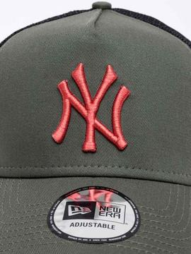 Cap New Era league essential Green_black