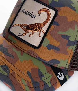 Alacran cap goorin bross/ camo_brown