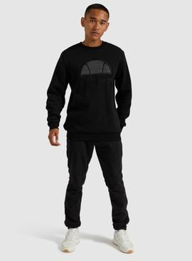 MANTO SWEATSHIRT BLACK /ELLESSE
