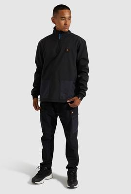 KINOTE 1/2 ZIP TRACK TOP BLACK / ELLESSE