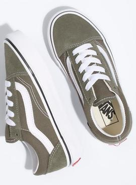 UY OLD SKOOL GRAPE LEAF TRUE WHITE VANS