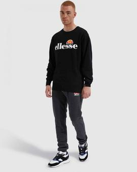 SUCCISO CREW SWEAT BLACK ELLESSE