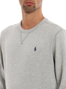 LONG SLEEVE KNIT GREY HTR RALPH LAUREN