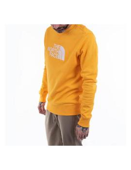 SUDADERA CREW YELLOW THE NORTH FACE