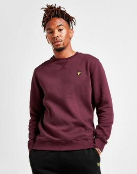 Sudadera / Wine/ Lyle-Scott