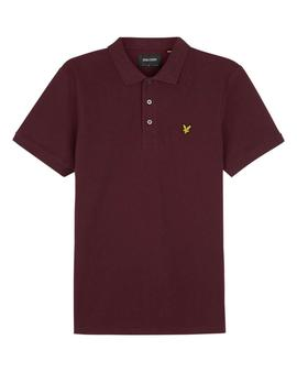 Polo M/C/ Wine/ Lyle-Scott