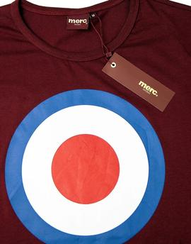 MERC TICKET T-SHIRT / Burgundy