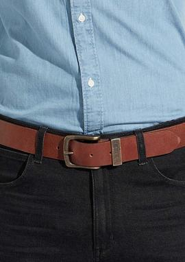 Belt metal loop cognac/Wrangler