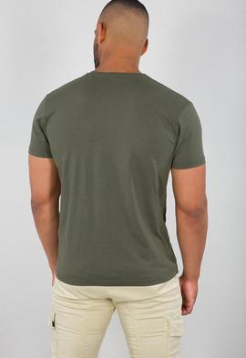 CAMO BLOCK T / DARK OLIVE/ ALPHA