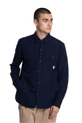 CAMISA RIPSTOP OVER NAVY BARBOUR