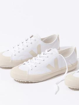 Zapatillas Veja Nova Canvas blanco crema