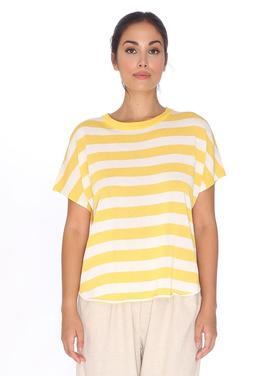 sweater stripes yellow Pepa Loves
