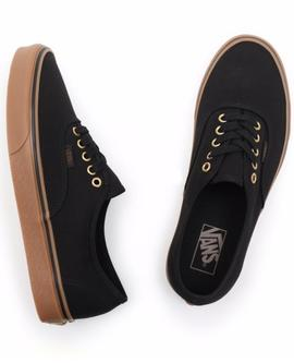 ZAPATILLA VANS AUTHENTIC BLACK/RUBBER