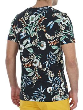 camiseta hawaiana Superdry