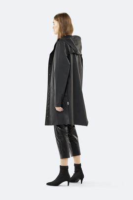 Chubasquero Long Jacket Black de Rains Unisex