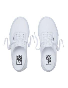 Mujer Zapatillas Vans Para Authentic Blancas 5c4Rq3AjL