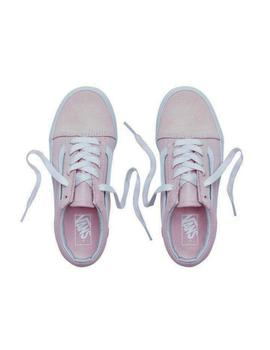 Zapatillas Vans Kids Old Skool Pink para Niña