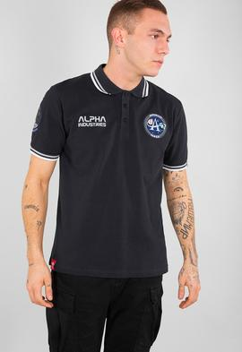 Polo Alpha Industries Moon Blue Hombre