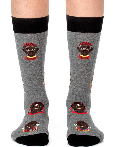 Calcetines Masais Dark Grey Jimmy Lion Hombre