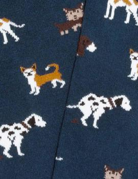 Calcetines Dogs Dark Blue Jimmy Lion Hombre