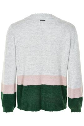 Jersey Numckenny Gris Verde Numph para Mujer