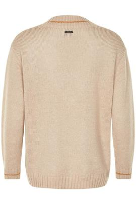 Jersey Numette Beige Numph para Mujer