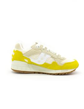 Shadow 5000 Amarillo Beige Saucony MUJER
