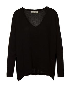 Jersey Pullover Negro BSB Mujer