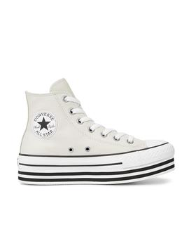 Chuck Taylor All Star Platform High Top Gris Converse Mujer