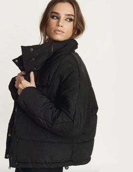 Carro Puff Jacket Black Rut and Circle