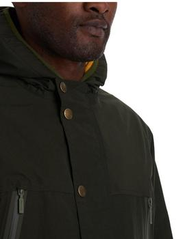 Parka Waterproof Donnington Verde Barbour Hombre