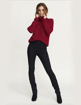 Jersey Tinelle Roll Neck Rosa Oscuro Rut - Circle Mujer