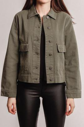 jacket khaki green/rut