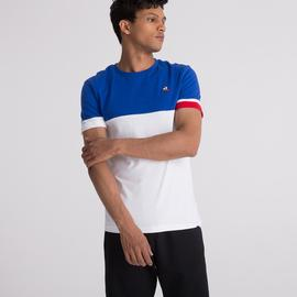 T-shirt Tri/ Royal blue_white/ Le coq sportif