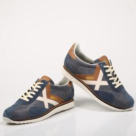 Zapatilla Sapporo 85/ Blue Denim_Brown/ Munich