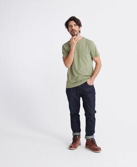 T-shirt Standard Label/ Oil Green/ Superdry