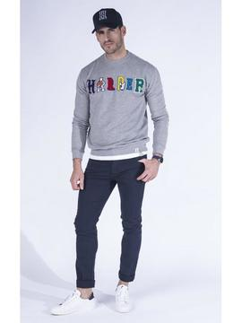 Sudadera Jeans Logo/ Medium Grey/ Harper