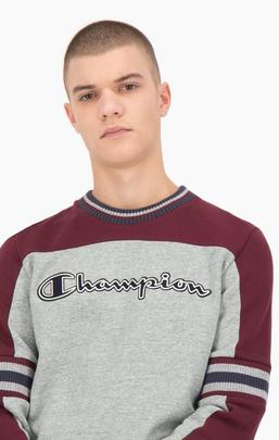 Sudadera / Grey_Burgundy/ Champion