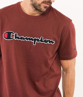 T-shirt / Burgundy/ Champion