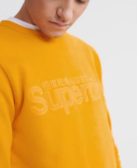 Sudadera Core/ Upstate Gold/ Superdry