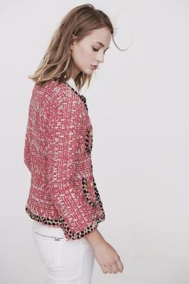 chaqueta chanel fucsia/ the extreme collection
