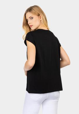 carly tshirt/black/tiffosi